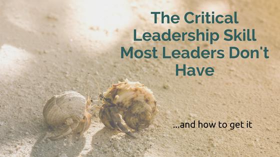 Critical Leadership Skill